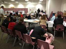 Voter Registration at Rine Center