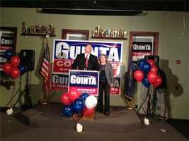 Guinta showed up to thank supporters