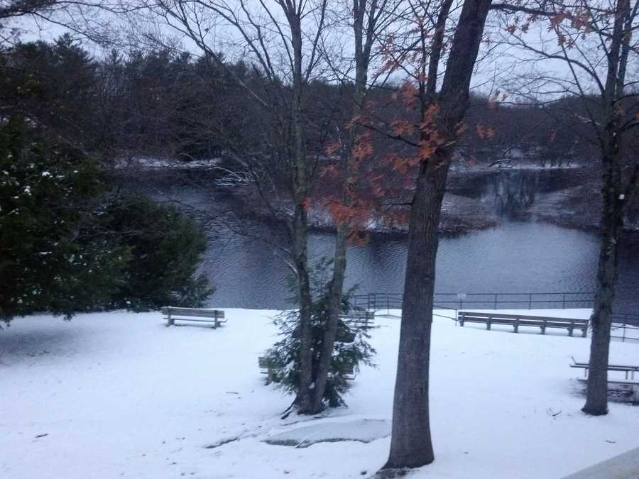 Snow in Newington