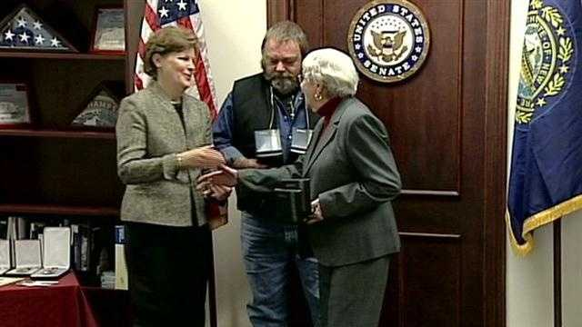 Families of veterans awarded medals