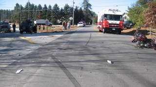 Motorcycle fatal crash