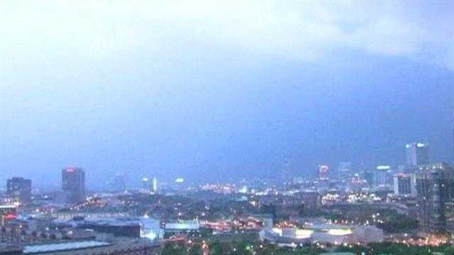 Ever see heat lightning off in the distance? Well, that's just regular old lightning. It just happens to be far enough away that you can't hear the thunder. Kevin Skarupa explains why questions about heat lightning are one of his pet peeves.