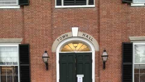 Amherst town hall pic