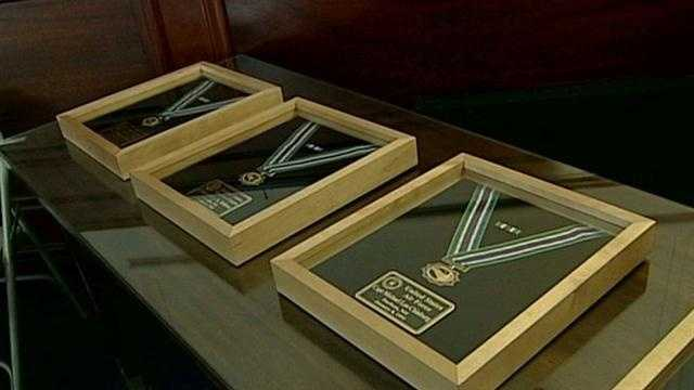 Four fallen soldiers were remembered at New Hampshire's second Medal of Honor ceremony on Friday.