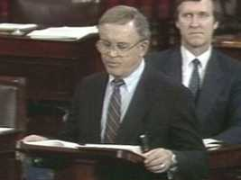 In 1991, as the Republican leader on the Senate Ethics Committee, Rudman investigated the Keating Five scandal involving allegations of bribery among five of his Senate colleagues.Then, in 1992, Rudman, who was upset with the way Washington worked, decided not to run for a third term.