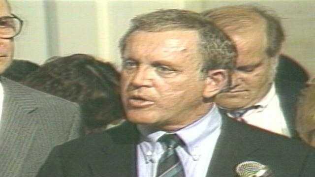 Former U.S. Sen. Warren Rudman