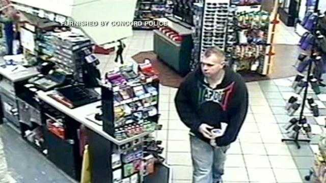 Concord police search for man who stole donation can