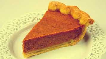 3) Pumpkin pie