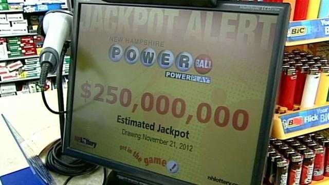 The possible winner of Wednesday night's Powerball drawing would have even more to be thankful for this Thanksgiving.