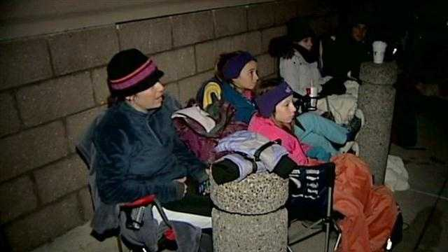 Shoppers line up for Black Friday deals