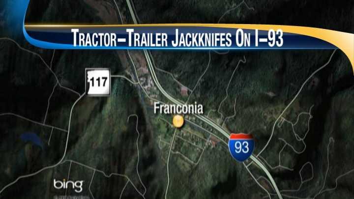 Accident shuts down I-93