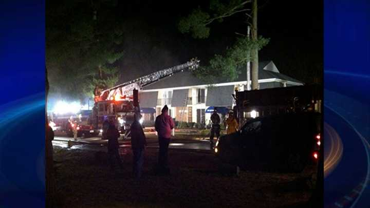 Fire in Northfield apartment building leaves eight units unliable