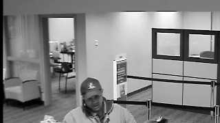 Londonderry bank robbery surveillance