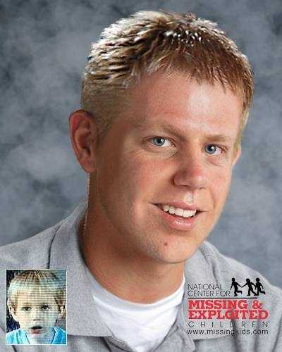 Charles Vosseler (born Dec. 9, 1982) has been missing since Oct. 9, 1986 from Rochester, N.H. He was allegedly abducted with his brother by his father, Charles Martin Vosseler. Charles may be using the alias last names Wilson, Foster or Amidon.This photo is shown age-progressed to 28 years.