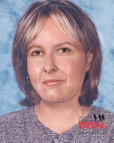 Rachael's photo is shown age-progressed to 42 years.Anyone with information should call 1-800-THE-LOST.