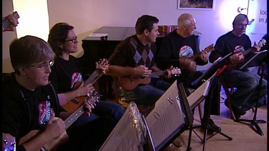 Tuesday December 11th: The Ukuleles Club