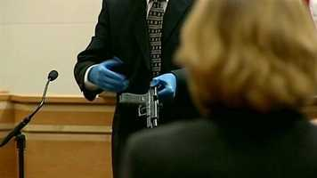Prosecutors said this was gun used to shoot Doherty.