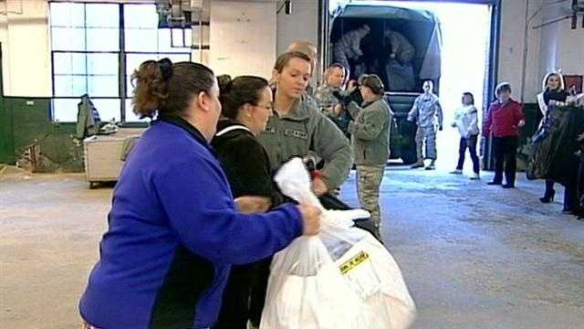 State workers collect toys for families in need