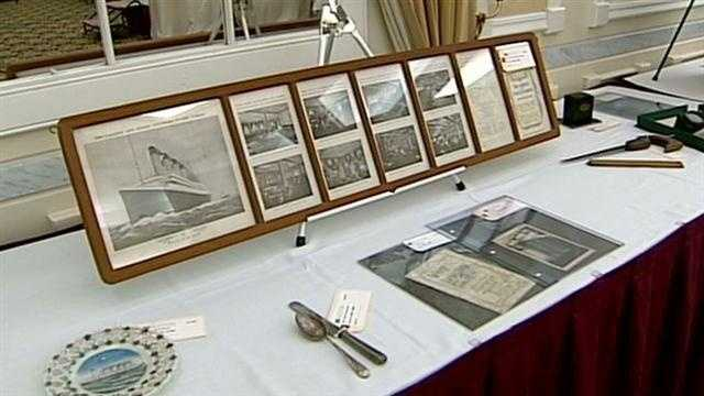 Titanic items up for auction in Nashua