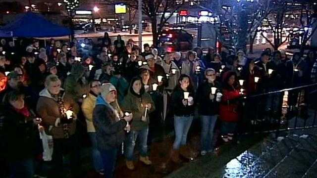 Dozens attend vigil for Sandy Hook victims in Nashua