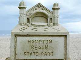 No. 6: Every year, beautiful sand sculptures are put on display at Hampton Beach. Here's a look at the 2012 event.