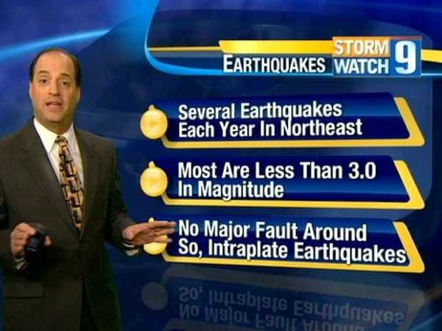 No. 22: Do you remember the earthquake back in October? That night, Meteorologist Mike Haddad offered his explanation for the rare event. Click here to watch the video.