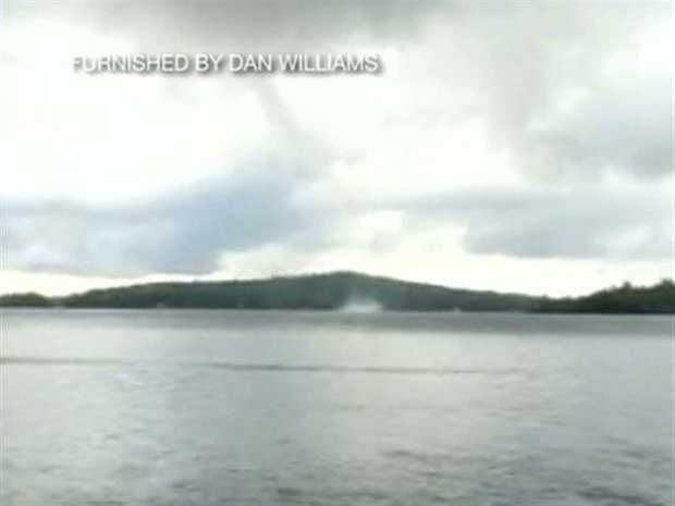 No. 7: A man captured a water spout over Lake Winnipesaukee earlier this year. Check out the footage.