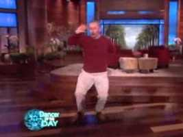 """No. 4: A New Hampshire man wowed the crowd with his dance moves during a segment on """"Ellen."""" Click here to watch the footage."""