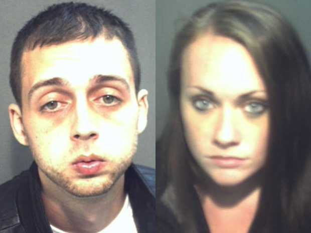 No. 2: Roland Dow and Jessica Linscott, who were wanted by police after taking a seriously injured 3-year-old boy to a hospital, were arrested at a theme park in Orlando, Fla.