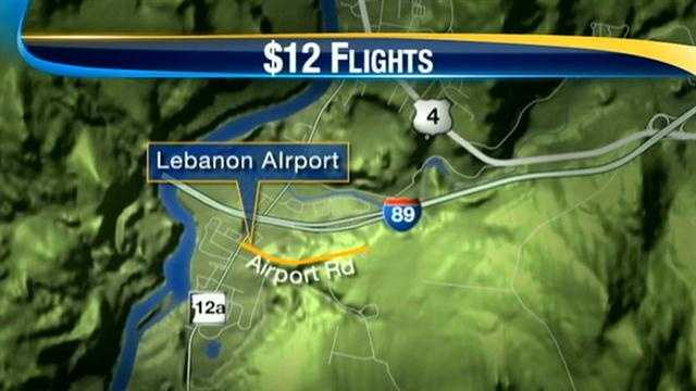 $12 flights available to Boston and New York City at Lebanon Airport