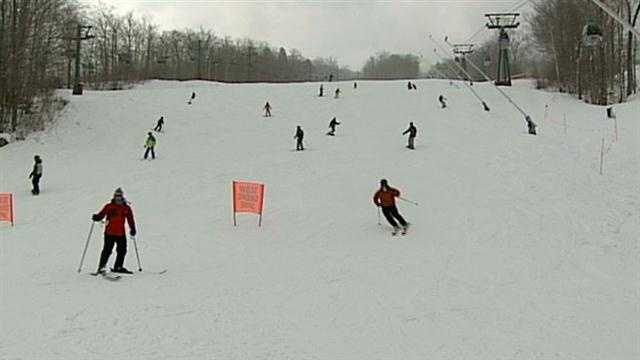 The Nor'easter and upcoming snowstorm are providing a significant boost to ski areas like Loon Mountain, which hasn't seen business this good in a while.
