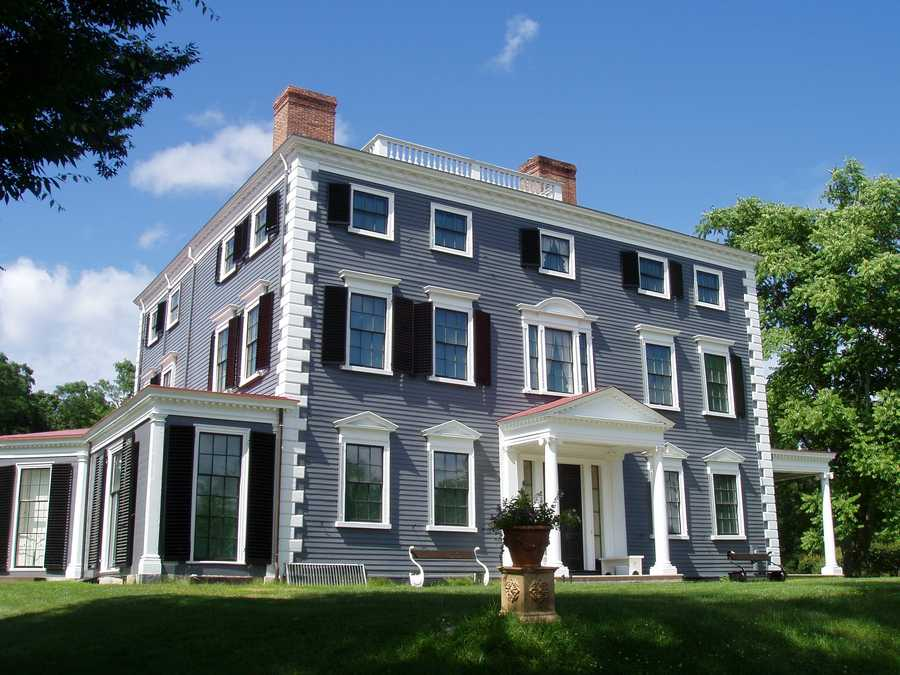 Hassan grew up in Lincoln, Mass. Pictured here is the Codman House in that town.