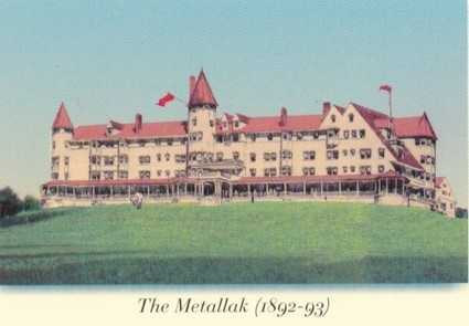 "Kevin's favorite New Hampshire landmark is Lombard's Hill in Colebrook. ""It's at the site of a half-built 'Metallak,' which was supposed to be a luxury hotel in the late 1800's but was knocked down by a series of storms in April and May 1893."" Kevin visited the location back in 2010."