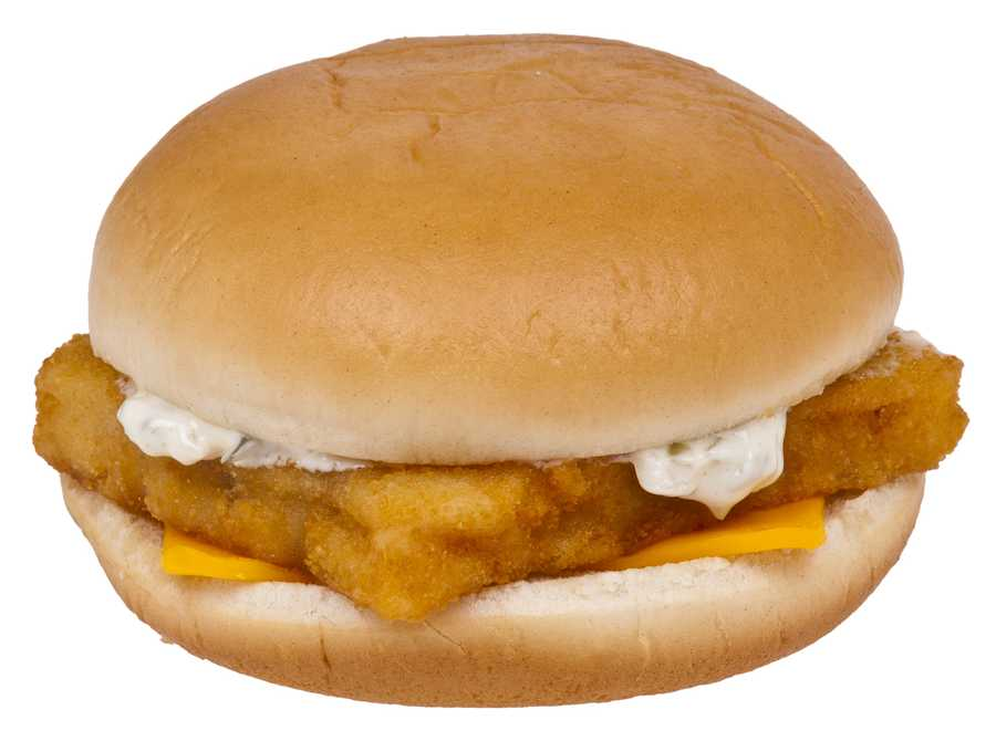 The one food Kevin cannot do without? The Filet-o-Fish.
