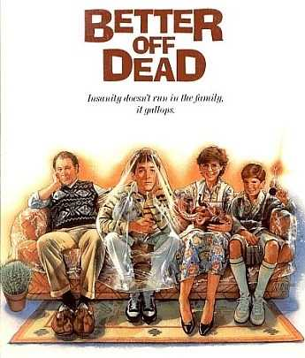 "Kevin's favorite all-time movie is ""Better Off Dead,"" starring John Cusack. He also likes anything directed in the 80s by John Hughes."