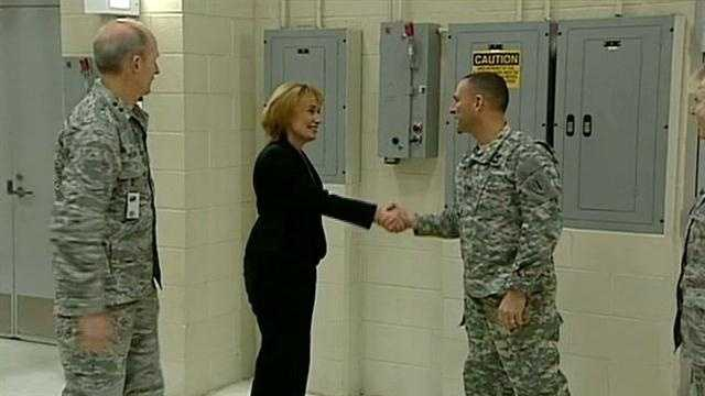 Hassan meets with National Guard