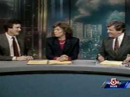 Dick Albert, Natalie Jacobson and Chet Curtis