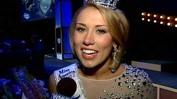 Megan spoke to News 9 soon after winning the competition.