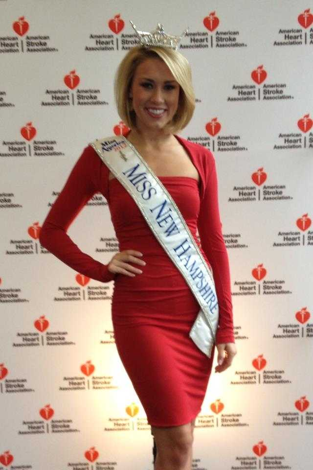According to the Miss New Hampshire Scholarship program, Megan will receive around $33,500 in scholarship grants through the Miss New Hampshire and New Hampshire's Outstanding Teen state competitions, the Miss America's Outstanding Teen Program and during her three years of participating in local competitions.