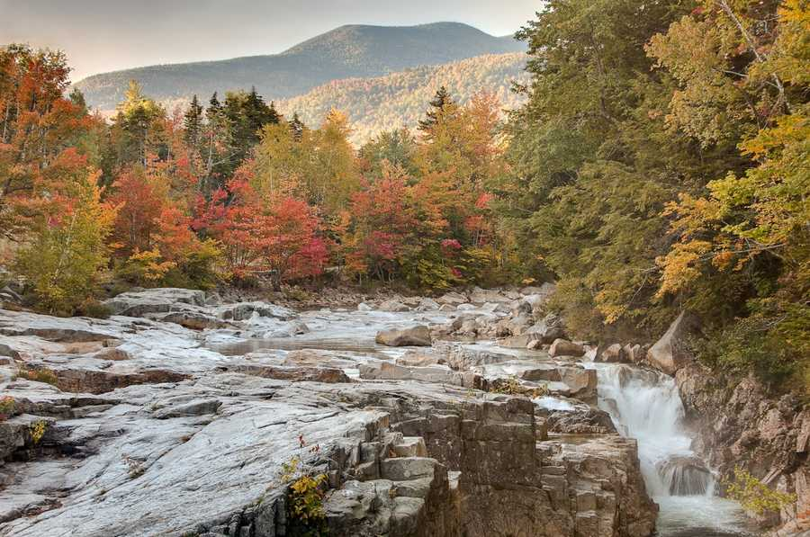 """The first thing Sean thinks of when he hears """"New Hampshire"""" is the state's """"beautiful scenery."""""""