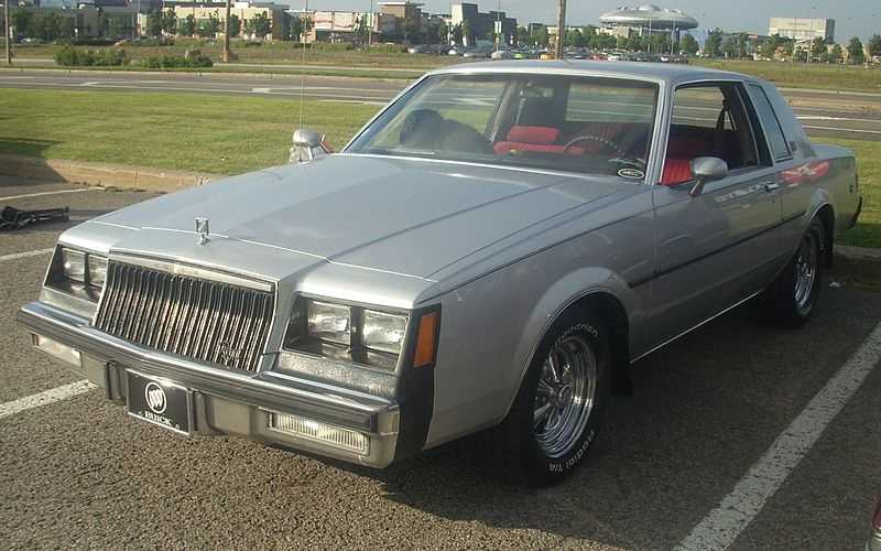 Sean's first car was the Buick Regal, which he sometimes had trouble starting.
