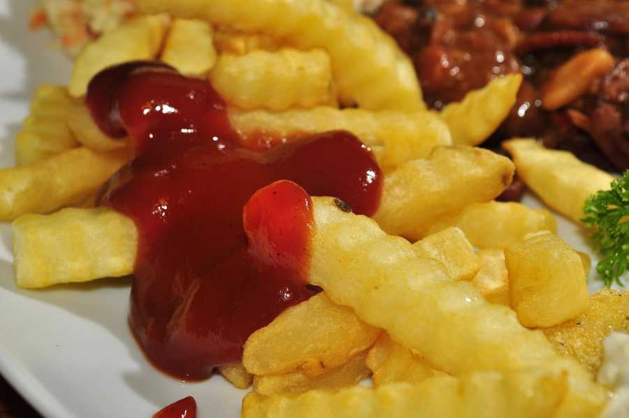 The two foods Sean can't live without are French Fries and any kind of gummy candy.