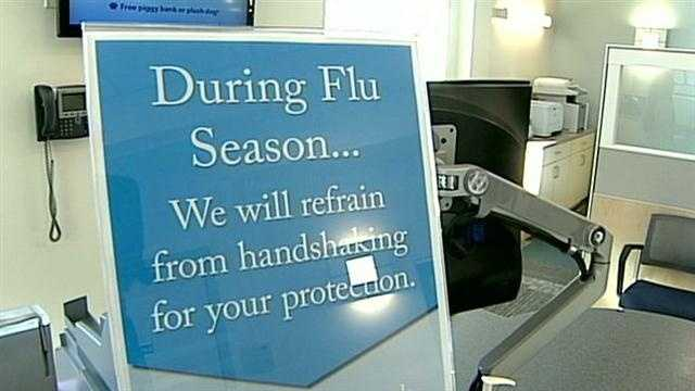 Businesses try to deal with flu outbreak
