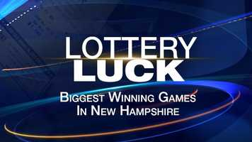 Here's a look at the biggest winning lottery games in New Hampshire since 2010...