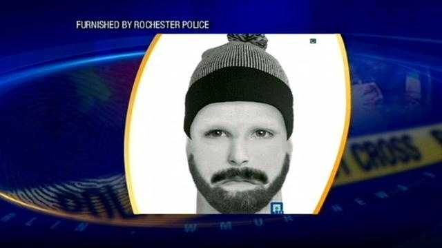 Police in Rochester are searching for a man who they say attacked and robbed a 59-year-old man near a shopping plaza.
