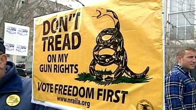 Gun advocates gather in Concord