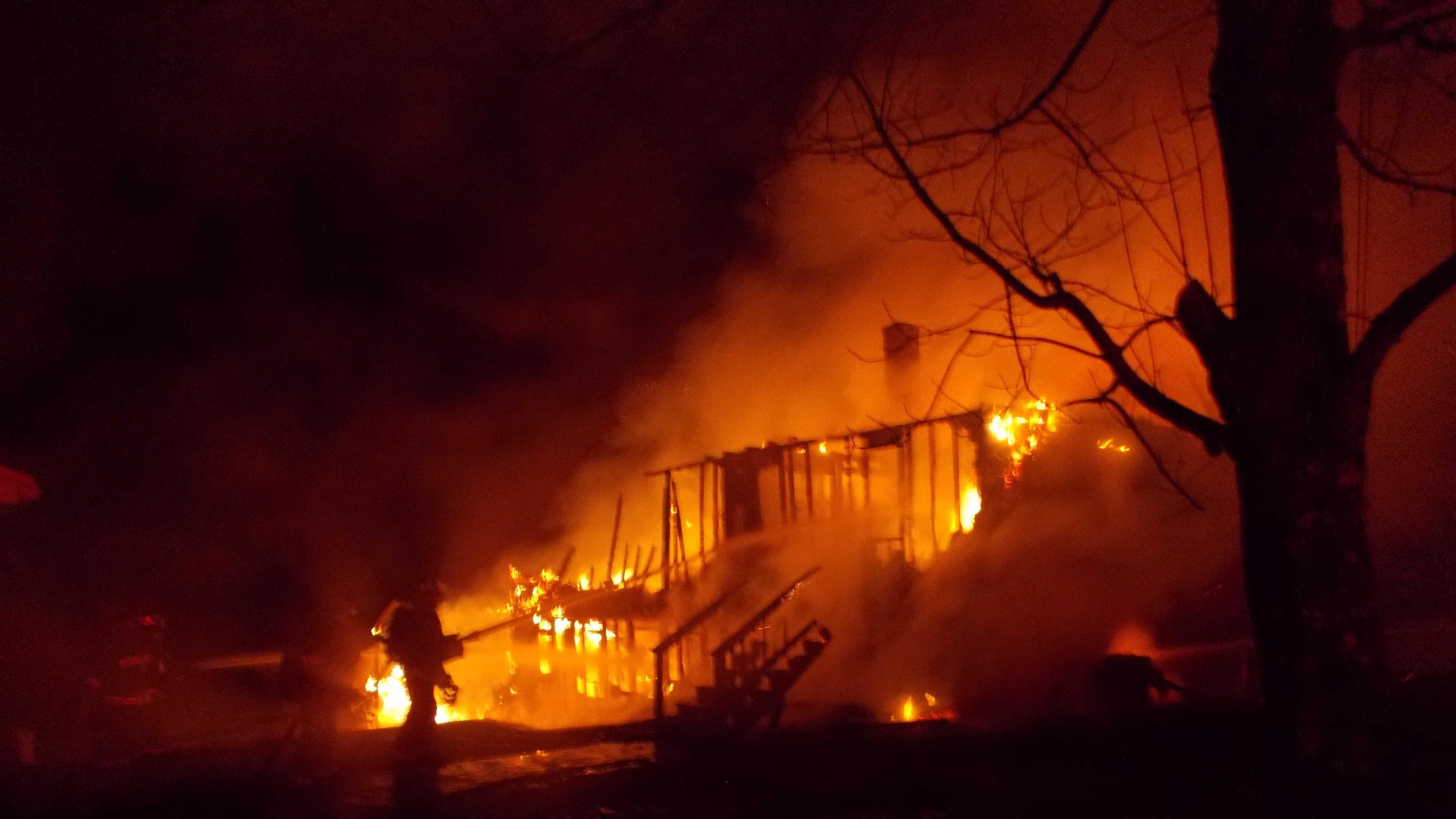 Belmont fire destroys single-family home