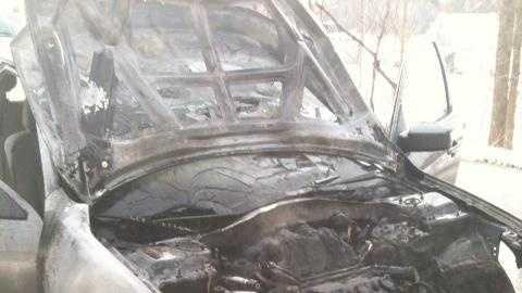 Rochester Car Fire