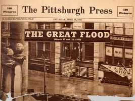 For his first job, Tom was a paperboy delivering the Pittsburgh Press.