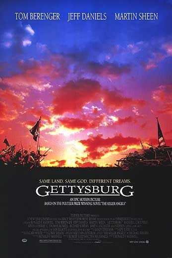 "Favorite movies? ""Gettysburg"" and ""The Patriot."""
